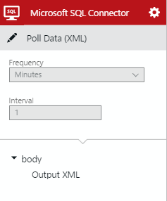 SQL Connector Poll Data